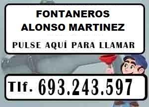 Fontaneros Alonso Martinez Madrid Urgentes