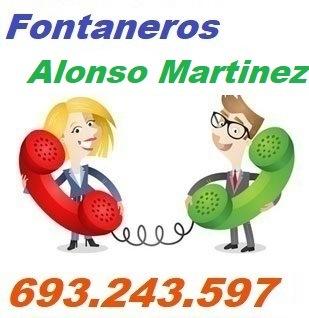 Telefono de la empresa fontaneros Alonso Martinez